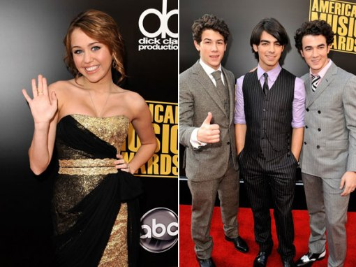 Miley & Jonas Brothers